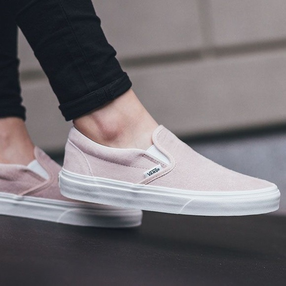e10a33f007 Light pink vans slip ons NOT FOR SALE. M 5b5a2027035cf1ceb2d4d6be